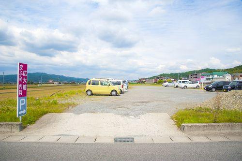 駐車場全体